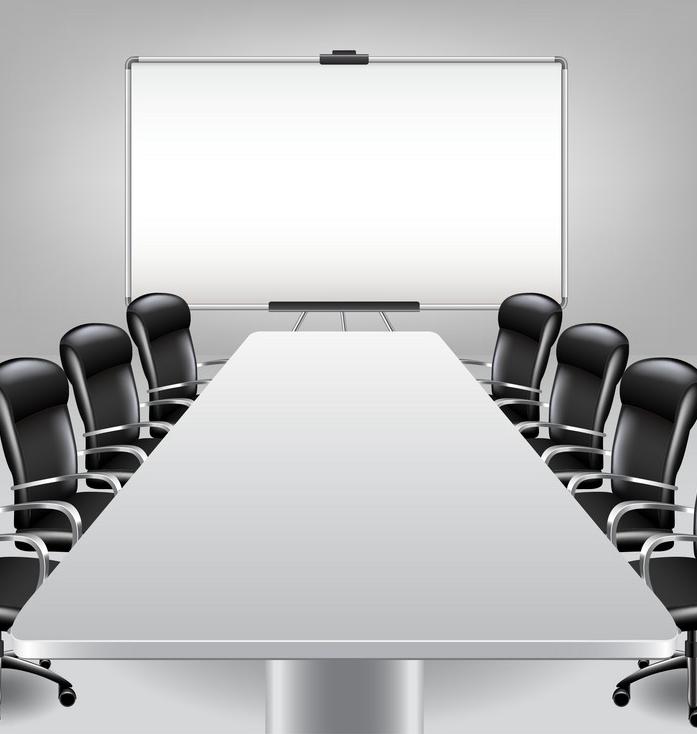 empty-meeting-room-and-presentation-board-vector-5216986